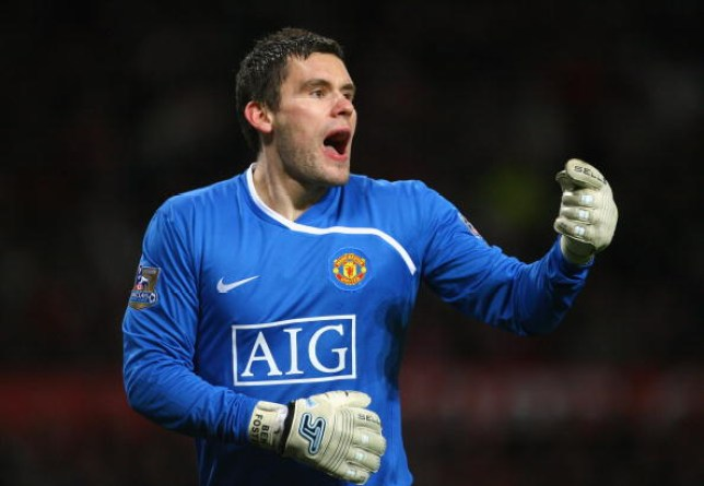Ben Foster of Manchester United