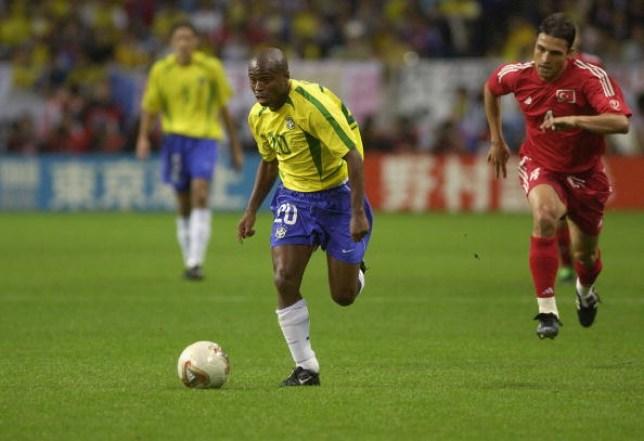 Former Brazil forward Edilson