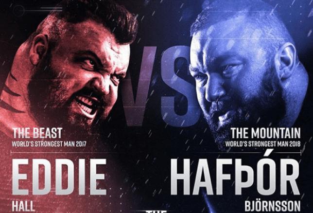 Eddie Hall vs Hafthor Bjornsson