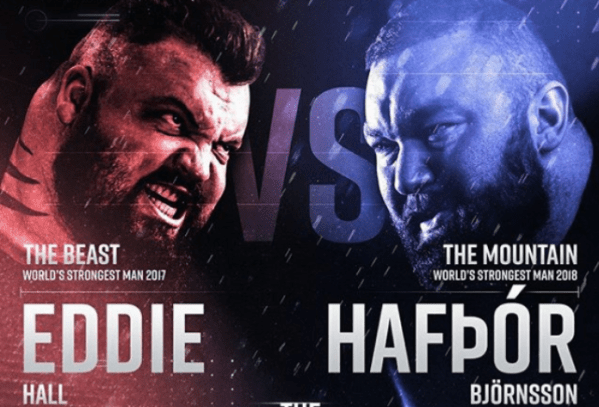 Eddie Hall vs Hafthor Bjornsson in on! The Beast will box the ...
