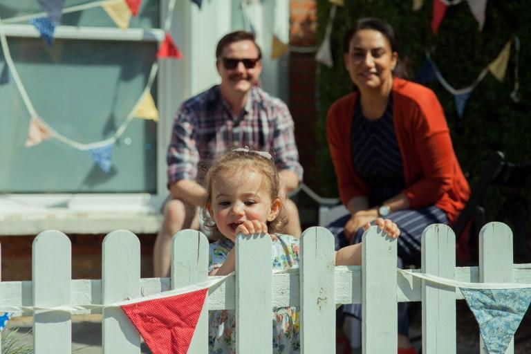 Fran Nelson's doorstep portraits: VE DAY