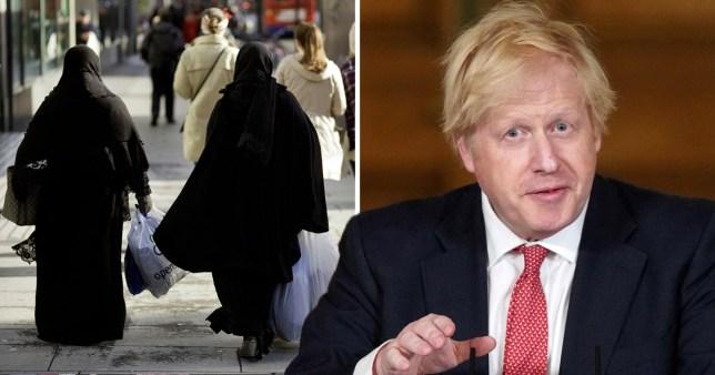 Tory party Isamophobia