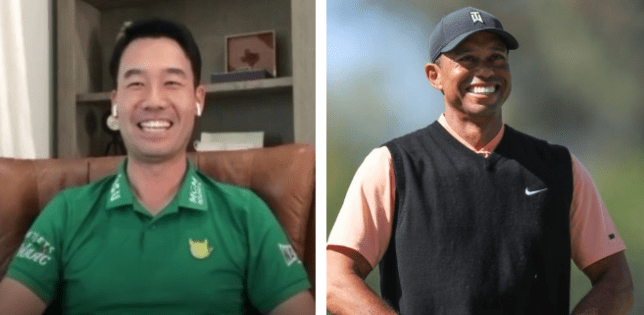 Kevin Na accidentally let slip that Tiger Woods will take charge of the American Ryder Cup team in 2022