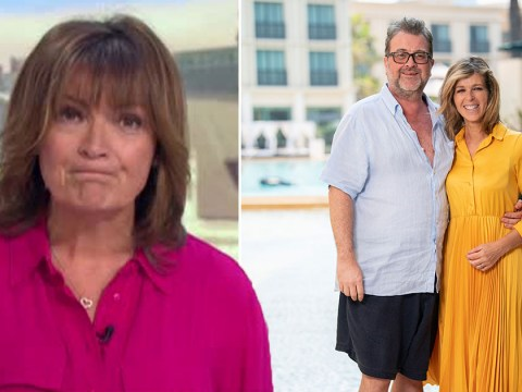 Lorraine Kelly says 'there's hope' for Kate Garraway's husband Derek as she wishes host Happy Birthday on GMB