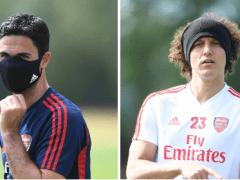 Mikel Arteta's stance on David Luiz amid shock Arsenal exit speculation