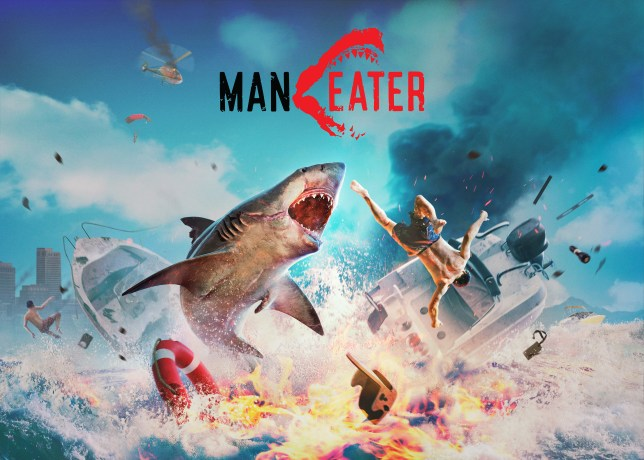 Maneater key art