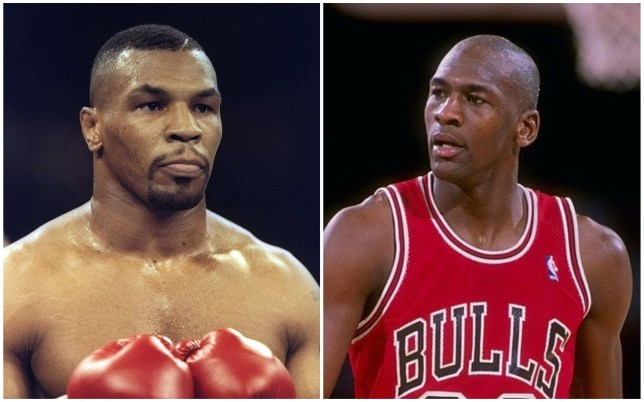 Mike Tyson was reportedly involved in a heated confrontation with Michael Jordan