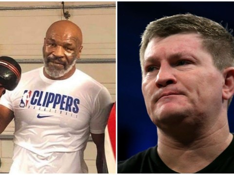 Ricky Hatton warns Mike Tyson over his boxing comeback