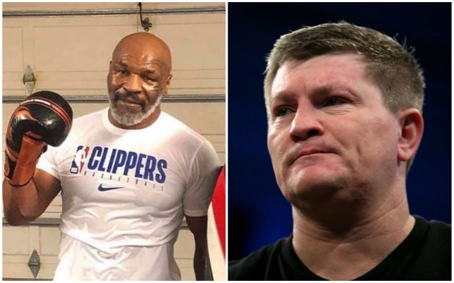 Ricky Hatton has warned Mike Tyson against making a return to boxing
