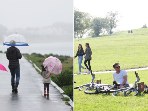 UK in for a warm weekend but more rain is on its way next week