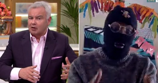 Drillminister and Eamonn Holmes