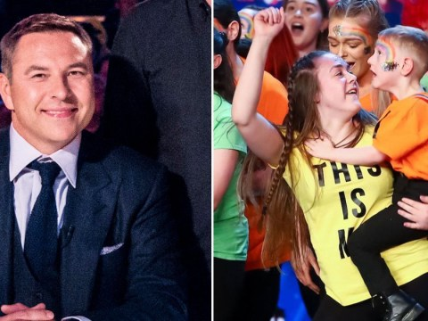 David Walliams donates £10k to his BGT golden buzzer act Christian who is walking 3 miles on his frame for NHS