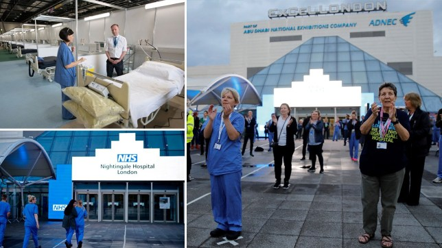 London's Nightingale hospital has been put on standby in a sign the NHS is coping with the coronavirus pandemic