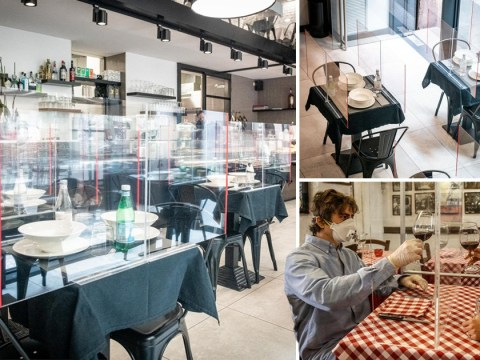 Italy gives a taste of what life may look like when restaurants are allowed to re-open