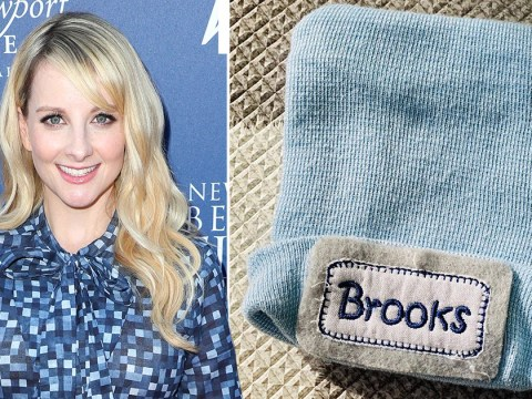 Big Bang Theory's Melissa Rauch announces birth of son Brooks in touching post about giving birth in a pandemic