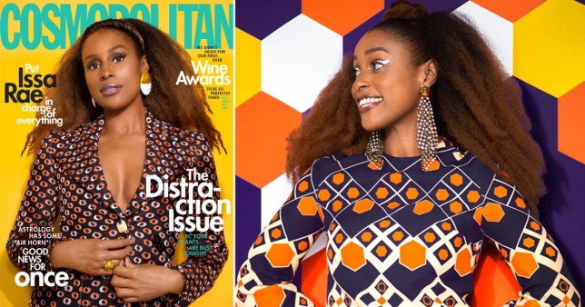 Insecure's Issa Rae stunning Cosmopolitan cover shoot