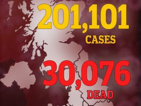 UK coronavirus deaths pass 30,000 in grim milestone with more than 200,000 cases