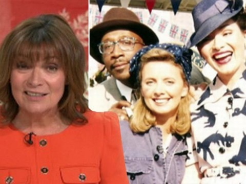 Lorraine Kelly in shock as GMB shares 'unrecognisable' snap from VE celebration 25 years ago: 'I look 125 years old'