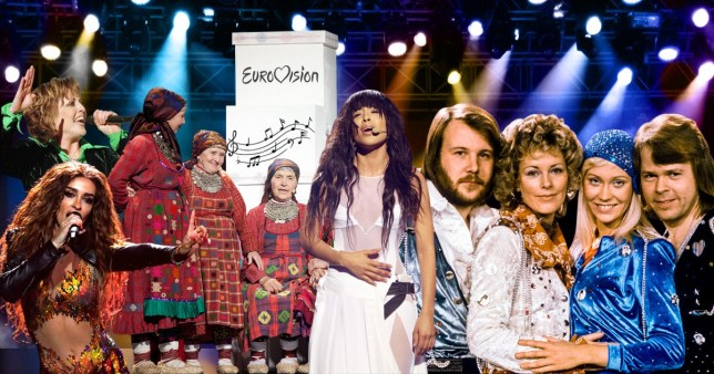 Eurovision playlist songs
