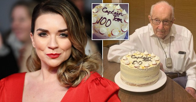 GBBO winner Candice Brown made birthday cake for Colonel Tom