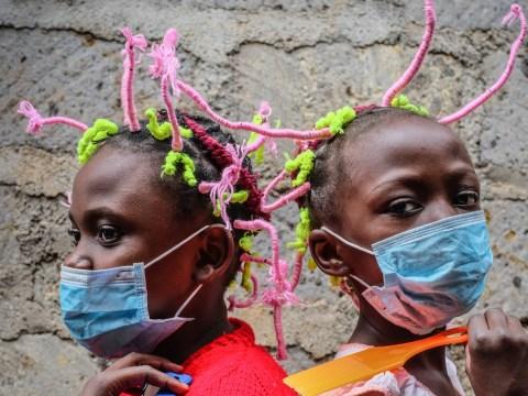 Striking 'Covid braids' are raising awareness about the virus in Kenya