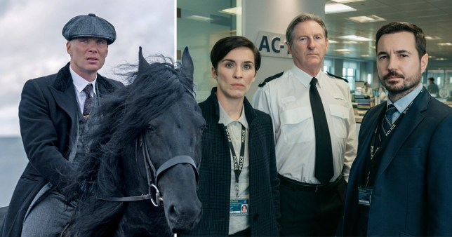 Government confirms Line of Duty and Peaky Blinders filming can resume