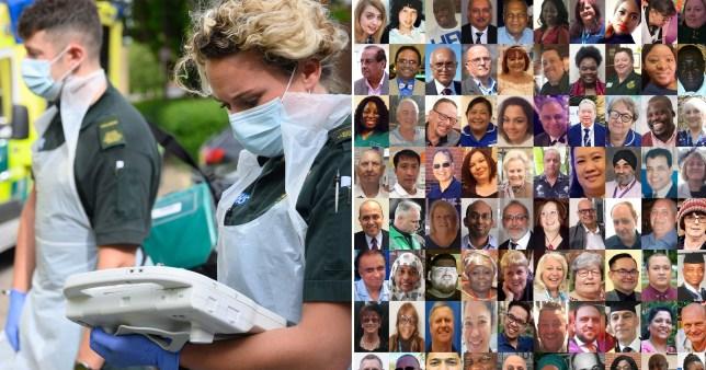 NHS coronavirus victims