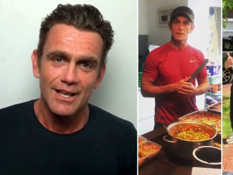 EastEnders' Scott Maslen chokes up as NHS frontline worker thanks him for making them meals