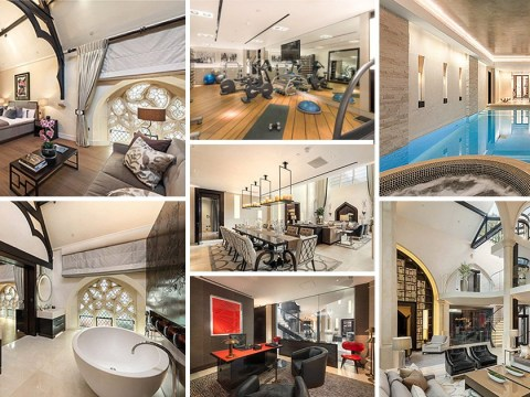A converted church with its own pool, sauna, and steam room is on sale in Knightsbridge