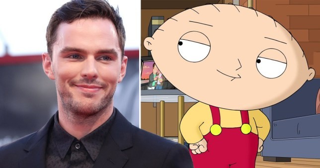 Nicholas Hoult impersonated Stewie from Family Guy for X ...