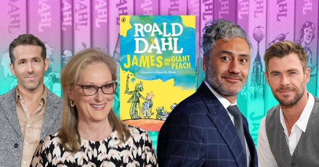 Ryan Reynolds, Meryl Streep and Chris Hemsworth are joining Taika Waititi for new Roald Dahl YouTube series