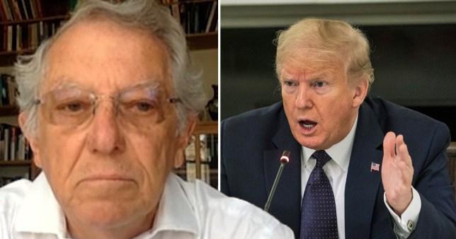 Sir David King lays into Donald Trump