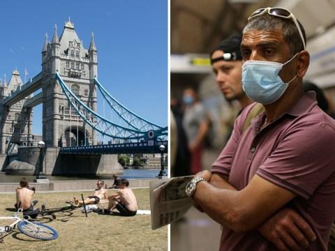 London records no new coronavirus cases for 24 hours