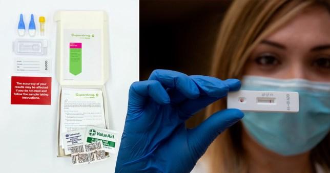 superdrug antibody test coronavirus