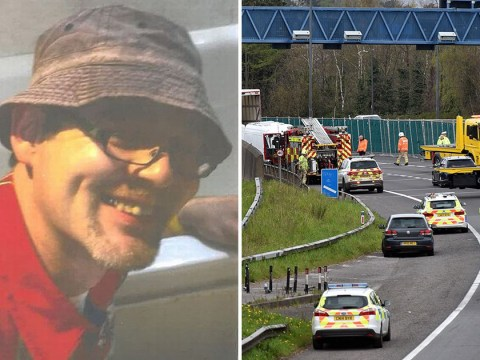 Dad killed in head-on crash with suicidal driver going wrong way down motorway