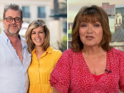 Lorraine Kelly praises Kate Garraway's 'remarkable strength' as husband Derek battles coronavirus in hospital