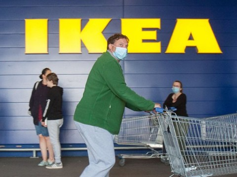 Ikea to ban families as it starts reopening from June 1