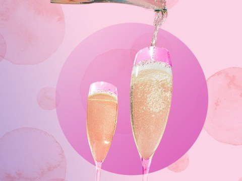 Pink prosecco is coming to the UK
