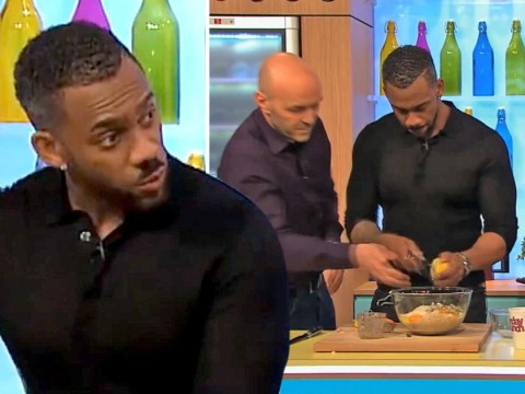 Lemon zest has come back to haunt Hollyoaks' Richard Blackwood again