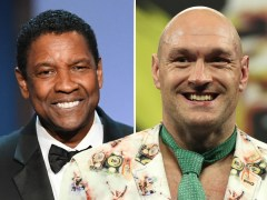 Tyson Fury wants Hollywood actor Denzel Washington to play him in biopic of his life