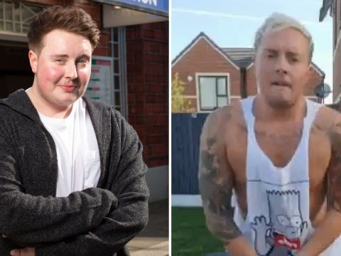 EastEnders star Riley Carter Millington is 'loving me more each day' as he reveals weight loss