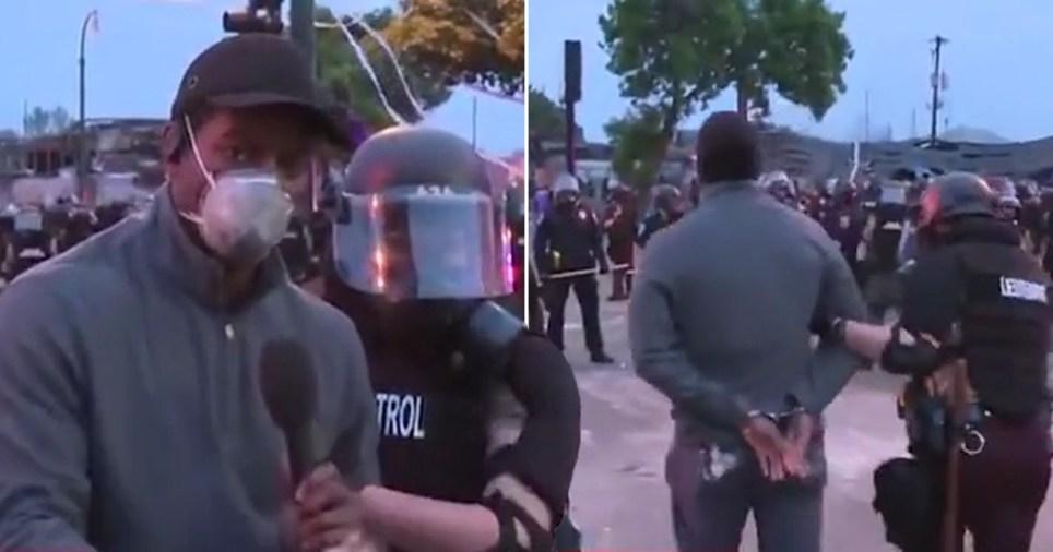 CNN reporter Omar Jimenez arrested live on air at George Floyd protest