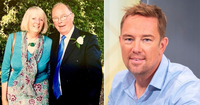 Simon THomas and father