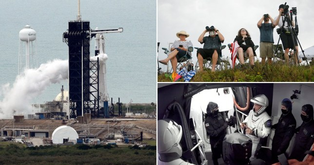 when can see spacex launch