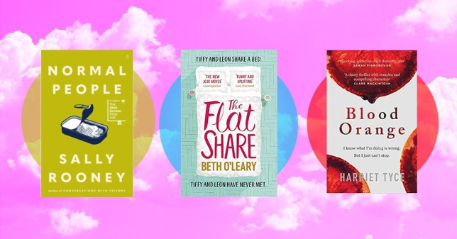 the most bought books of lockdown: normal people, the flat share, and blood orange
