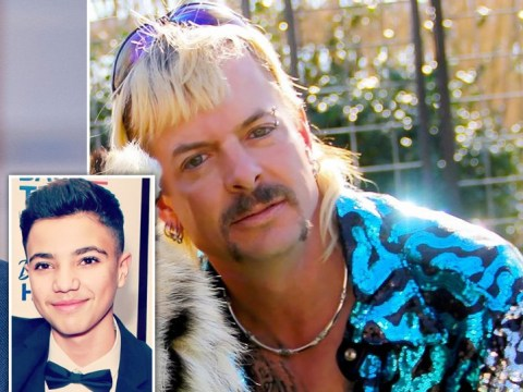 Peter Andre jokes Tiger King's Joe Exotic is Junior's real father