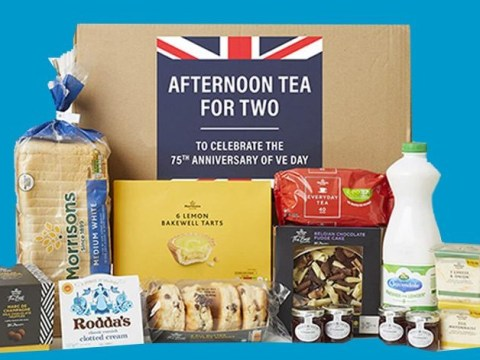 Morrisons launches £15 afternoon tea box to mark 75th VE Day anniversary during lockdown