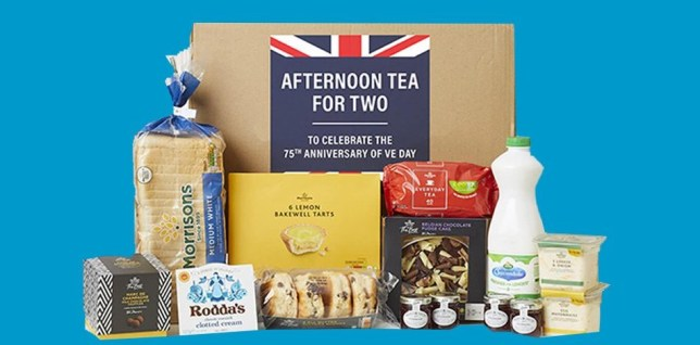 Morrisons launches ?15 afternoon tea essentials box for VE day 75th anniversary celebrations