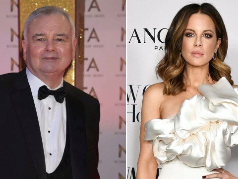 Eamonn Holmes posts bizarre message to Kate Beckinsale as she stretches to sound of his voice