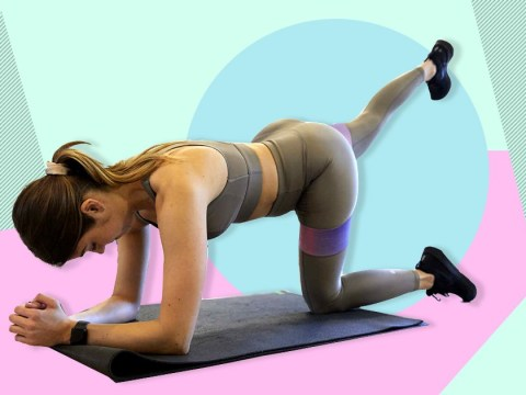 Try this resistance band workout for a stronger bum and legs